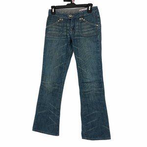 Buffalo Jeans Womens Flare Denim Jeans Size 2